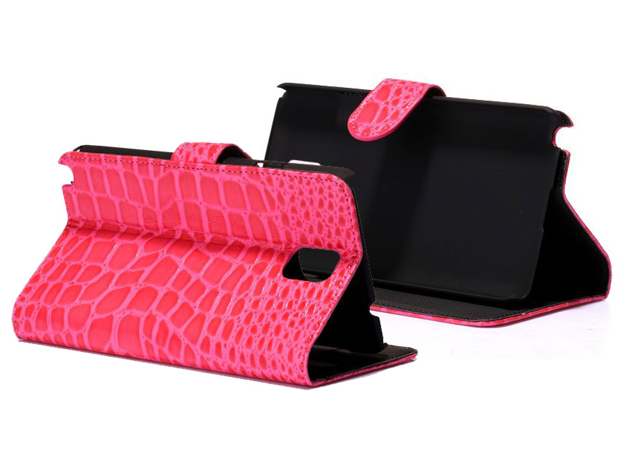 Croco Sideflip Stand Case Samsung Galaxy Note 3