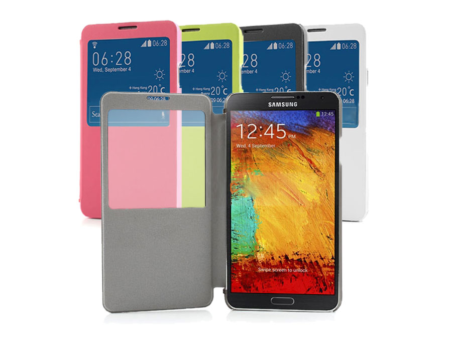 Color S-View Case - Hoesje voor Samsung Galaxy Note 3