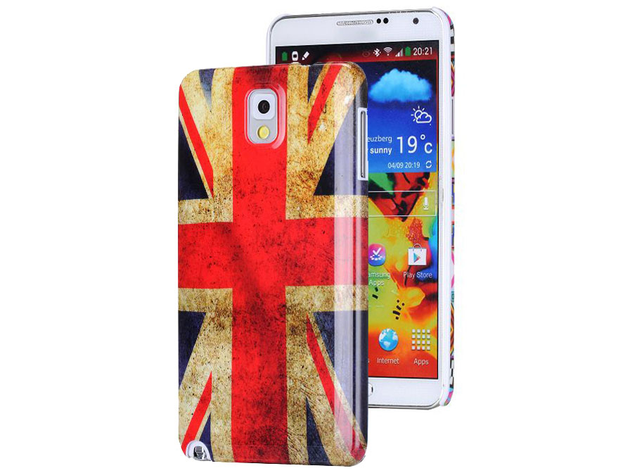 Great Brittain Vintage Flag Case - Hoesje voor Samsung Galaxy Note 3