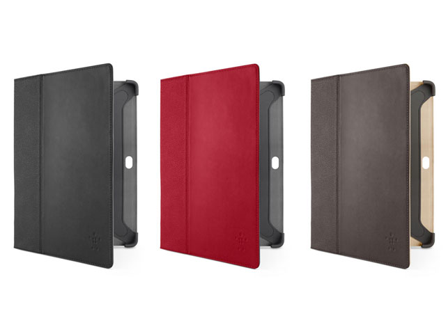 Belkin Cinema Leather Folio met Stand voor Samsung Galaxy Tab 2 10.1