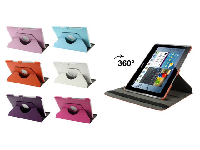 color swivel stand 360 turn stand case samsung galaxy tab