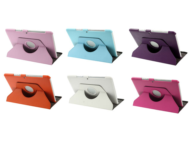 Color Swivel Stand 360-turn Stand Case Samsung Galaxy Tab 2 10.1