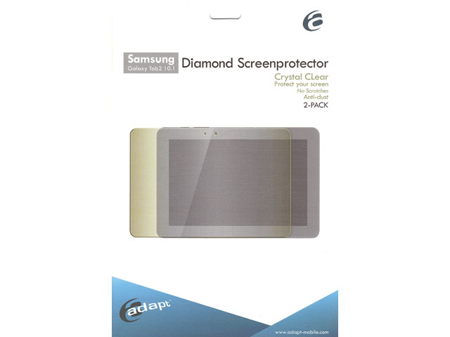 Adapt Screenprotector 2-pack Samsung Galaxy Tab 2 10.1 (P5100/P5110)