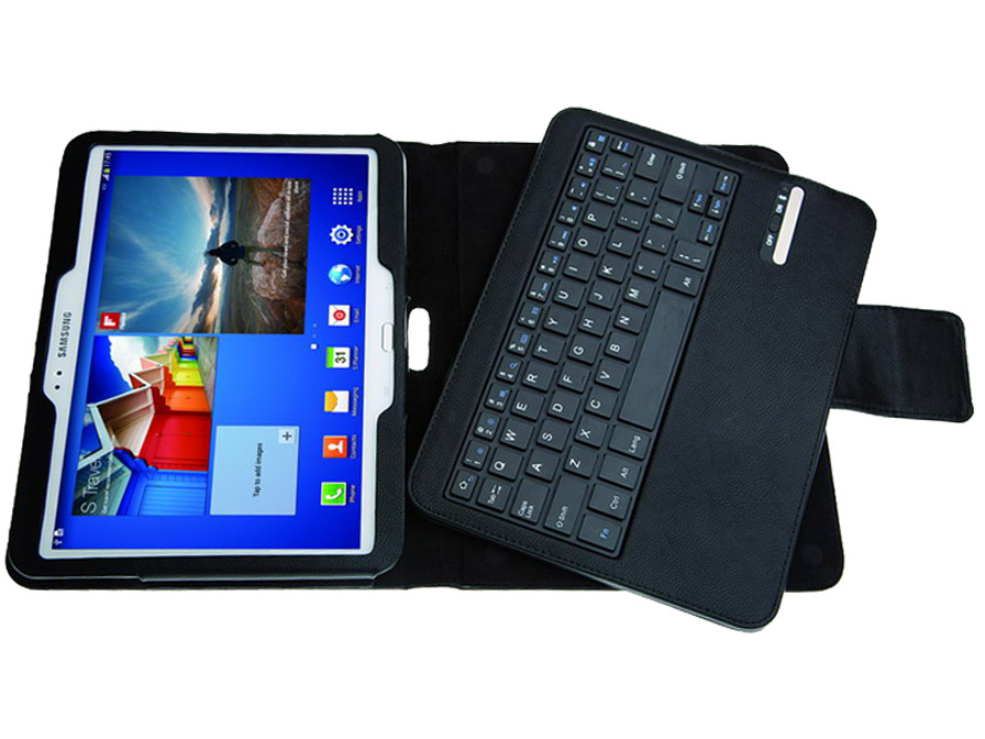 Bluetooth Keyboard Folio Case voor Samsung Galaxy Tab 3 10.1