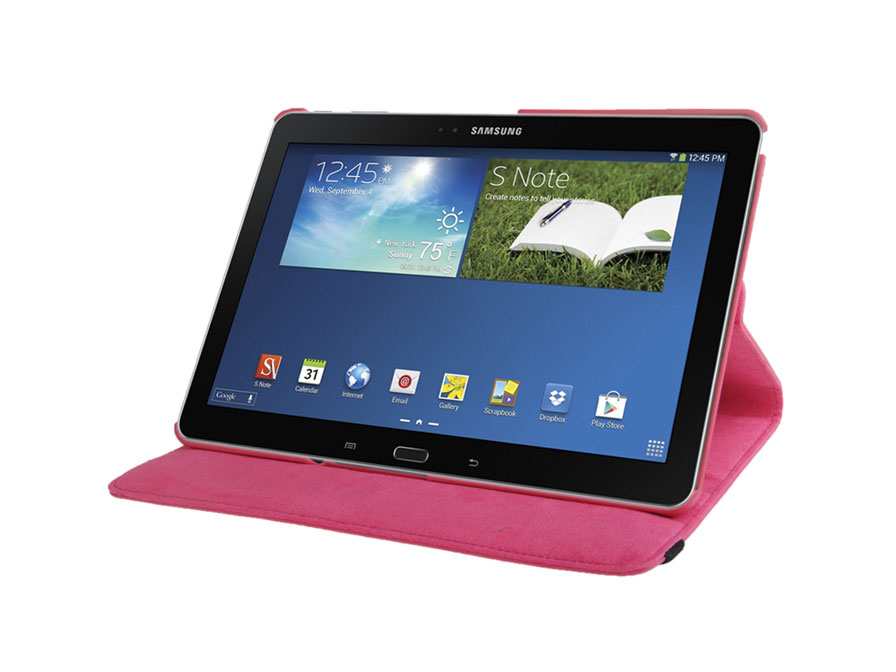 Draaibare Hoes met Stand Samsung Galaxy TabPRO 10.1 / Note 10.1 (2014)