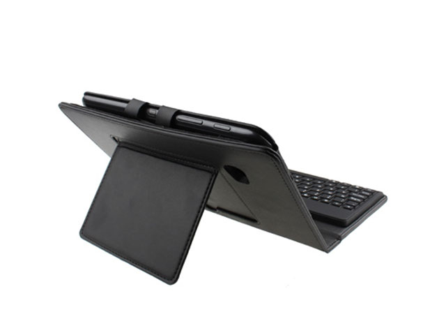 Keyboard Folio Leren Case Samsung Galaxy Tab 7.0 Plus