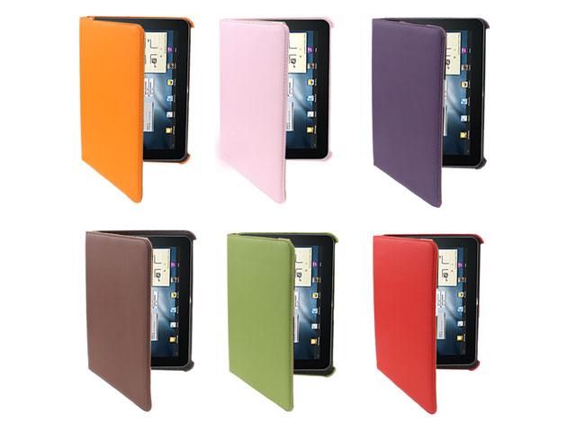Color Series Swivel Stand Case voor Samsung Galaxy Tab 8.9