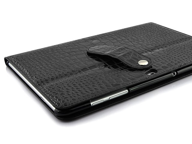 Crocodile Cinema Stand Case voor Samsung Galaxy Tab 10.1