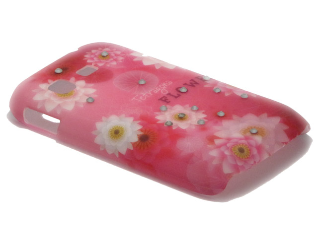 Crystals ''Tetragona'' Case Samsung Galaxy Pocket (S5300)