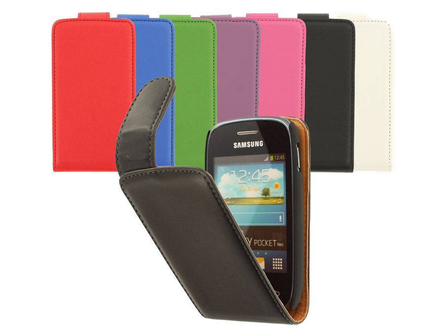 Classic Leather Case voor Samsung Galaxy Pocket Neo (S5310)