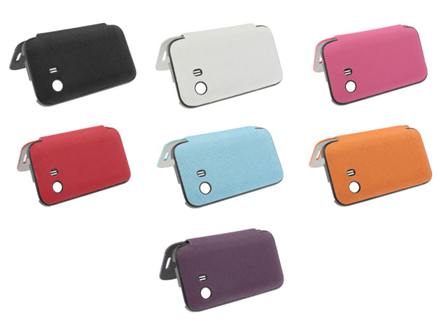 Battery Cover Flip Case Hoesje voor Samsung Galaxy Y (S5360)