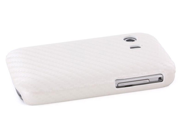 Carbon Back Case - Samsung Galaxy Y S5360 hoesje