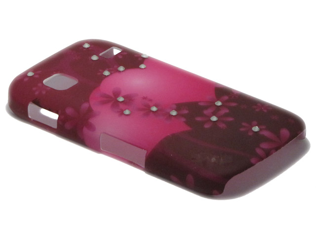 Crystals ''Big Hearts'' Case Samsung Galaxy Gio (S5660)