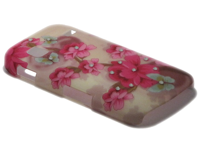 Crystals ''Romantic'' Case Samsung Galaxy Gio (S5660)