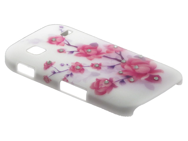 Crystals ''Sweet Roses'' Case Samsung Galaxy Gio (S5660)