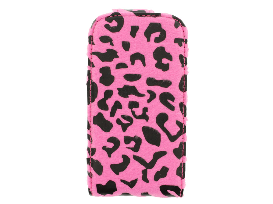 Furry Panther Flip Case voor Samsung Galaxy Gio (S5660)