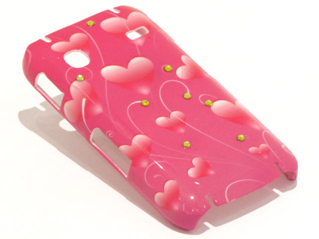Crystals Sweethearts Case Samsung Galaxy Gio S5660