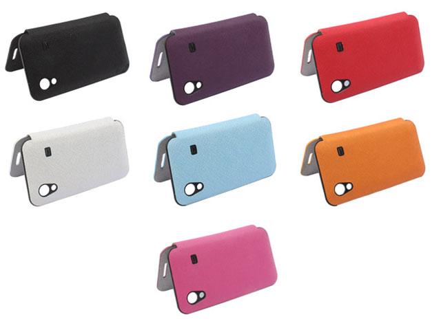 Battery Cover Flip Case Hoesje voor Samsung Galaxy Ace (S5830)