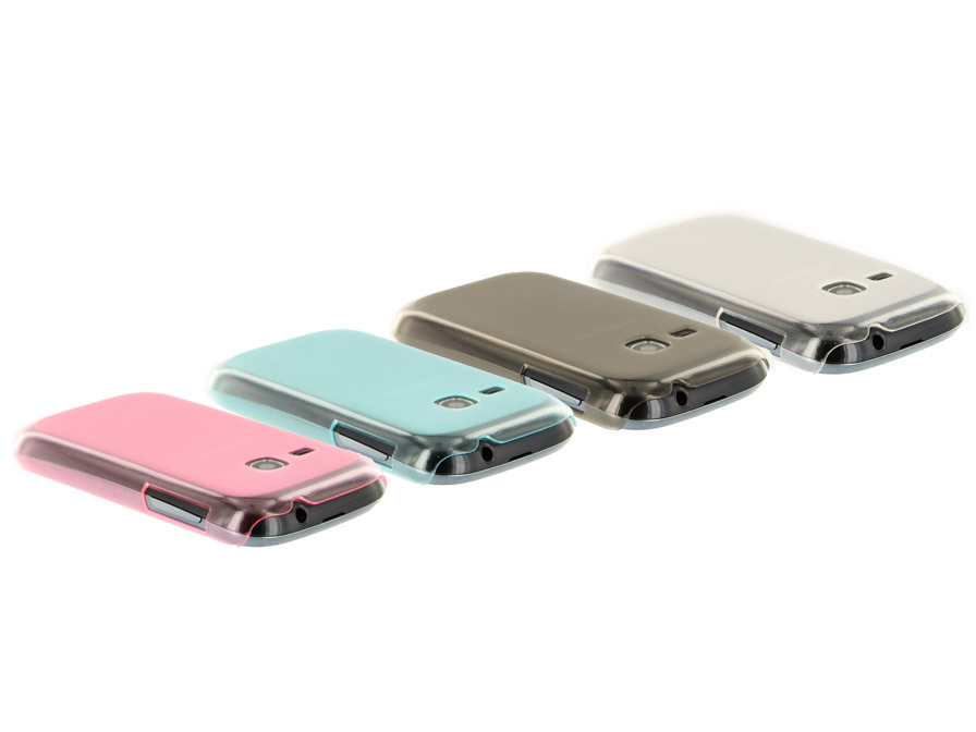 Frosted Hard Case - Samsung Galaxy Young S6310 Hoesje