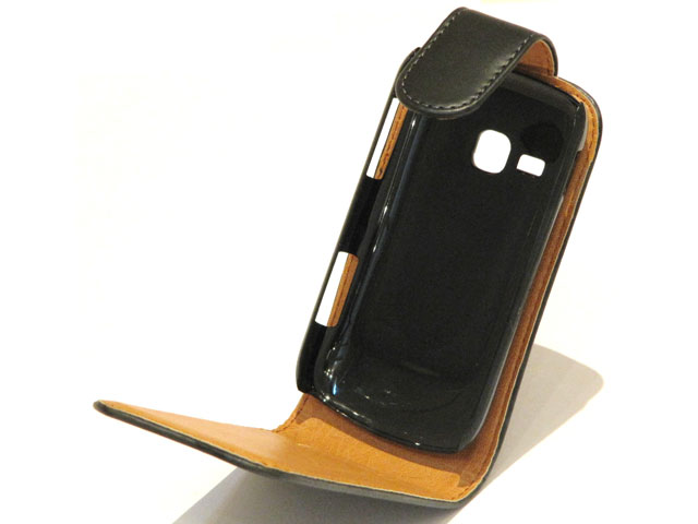 Classic Leather Flip Case Samsung Galaxy Mini 2 (S6500)
