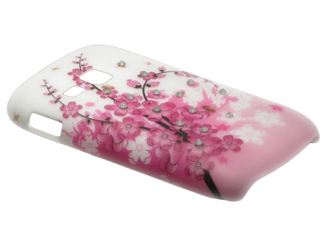 Crystals ''Chinese Blossom'' Case Samsung Galaxy Mini 2 (S6500)