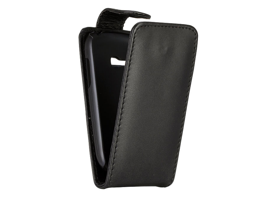 Business Leather Flip Case - Hoesje voor Samsung Galaxy Fame Lite