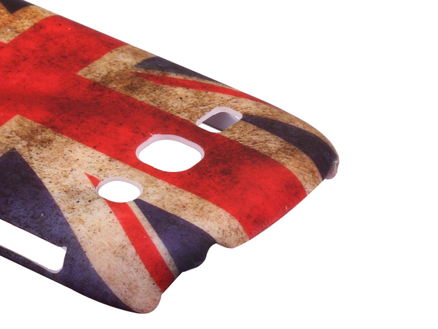 Great Brittain Vintage Flag Case voor Samsung Galaxy Fame (S6810)