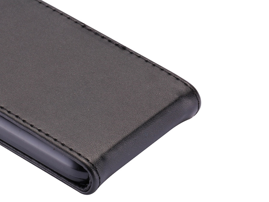 Business Leather Flip Case voor Samsung Galaxy Ace 3