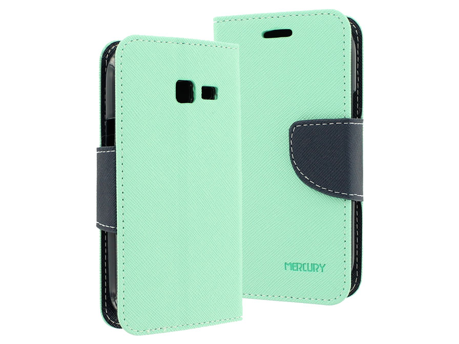 minty sideflip case hoesje voor samsung galaxy trend lite s7390. Black Bedroom Furniture Sets. Home Design Ideas