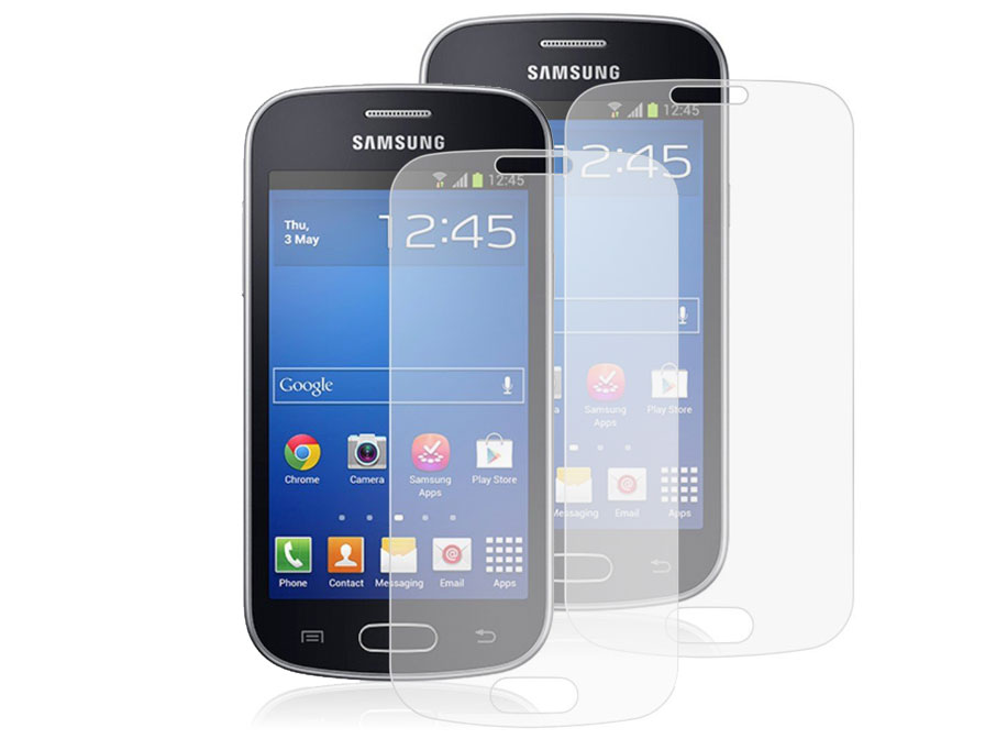 Clear Screenprotector voor Samsung Galaxy Trend Lite (2-pack)