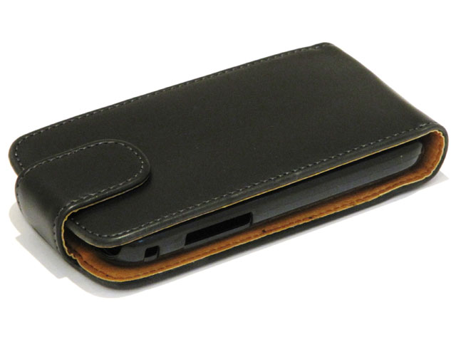 Classic Leather Case voor Samsung Galaxy Ace Plus (S7500)