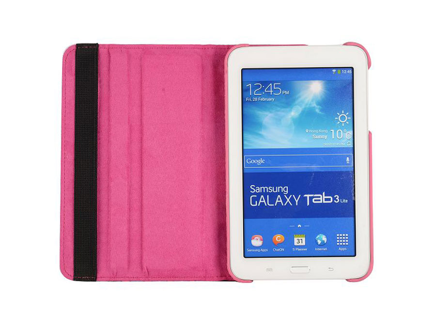 Aztec Roterende Case - Hoes voor Samsung Galaxy Tab 3 Lite