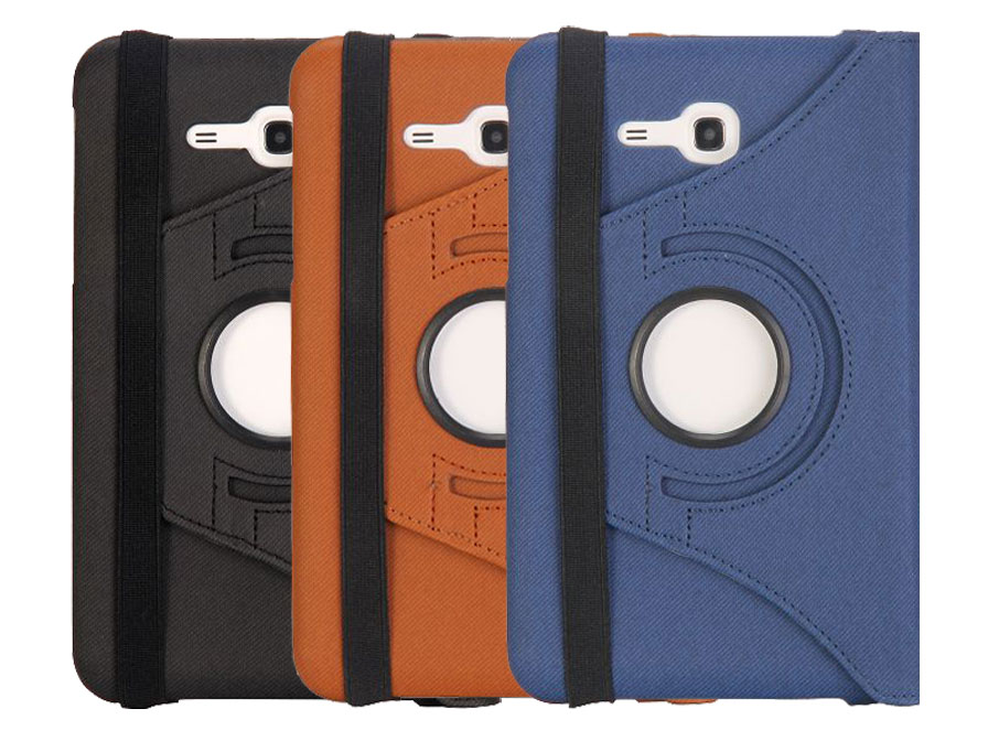 Classic Canvas Swivel Case - Hoes voor Samsung Galaxy Tab 3 7.0 Lite