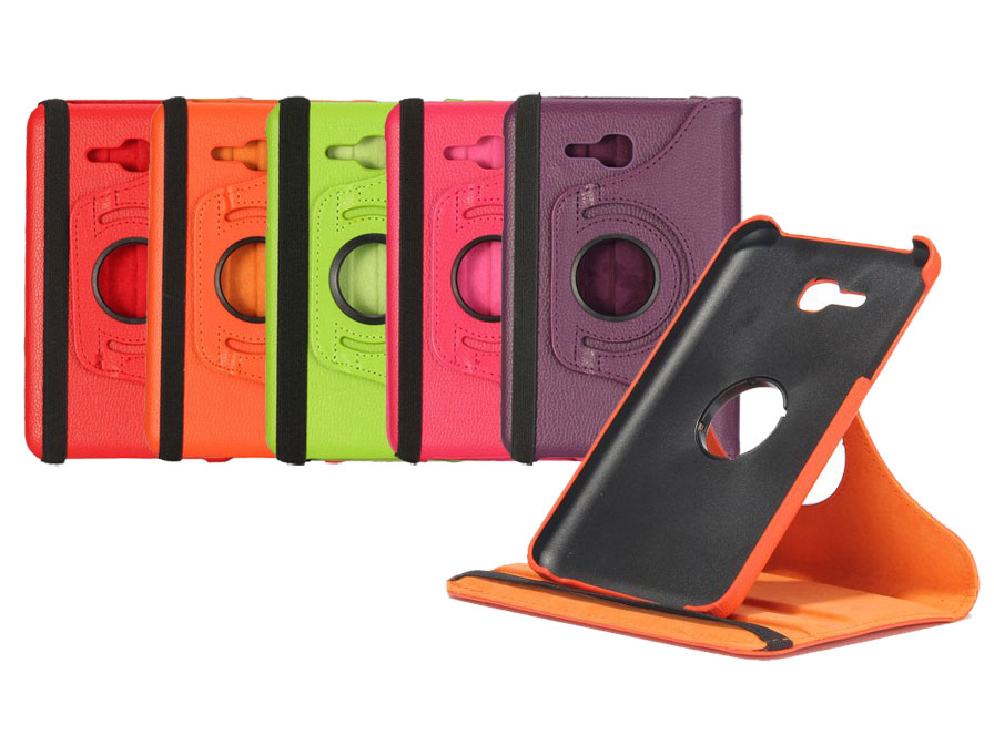 Color Leather Swivel Case - Hoes voor Samsung Galaxy Tab 3 7.0 Lite