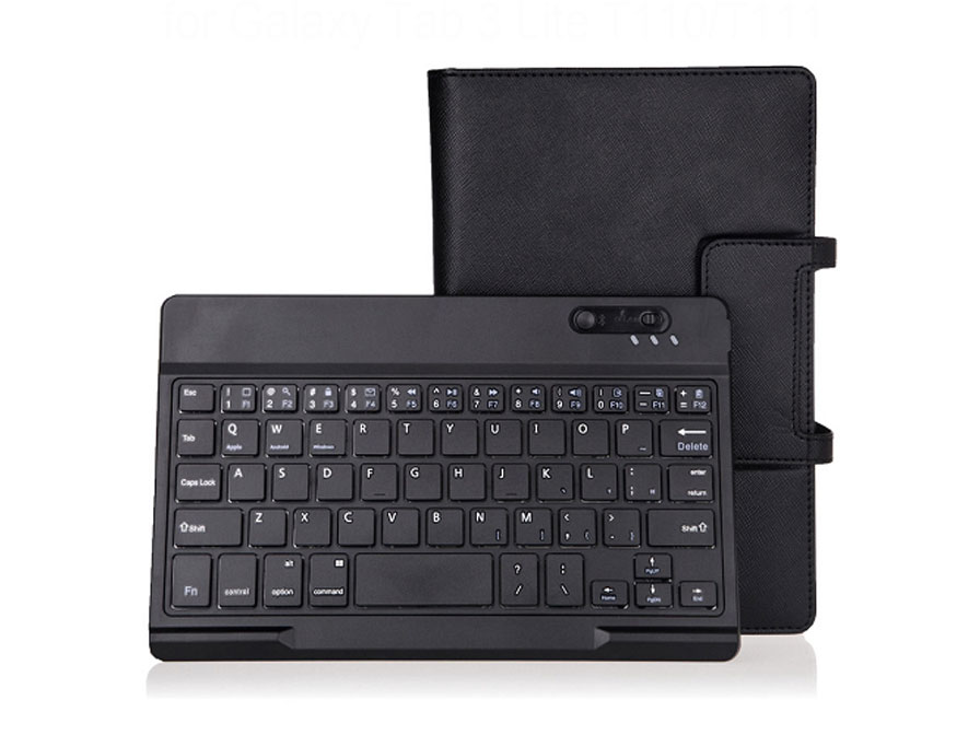 Bluetooth Keyboard Case voor Samsung Galaxy Tab 3 Lite
