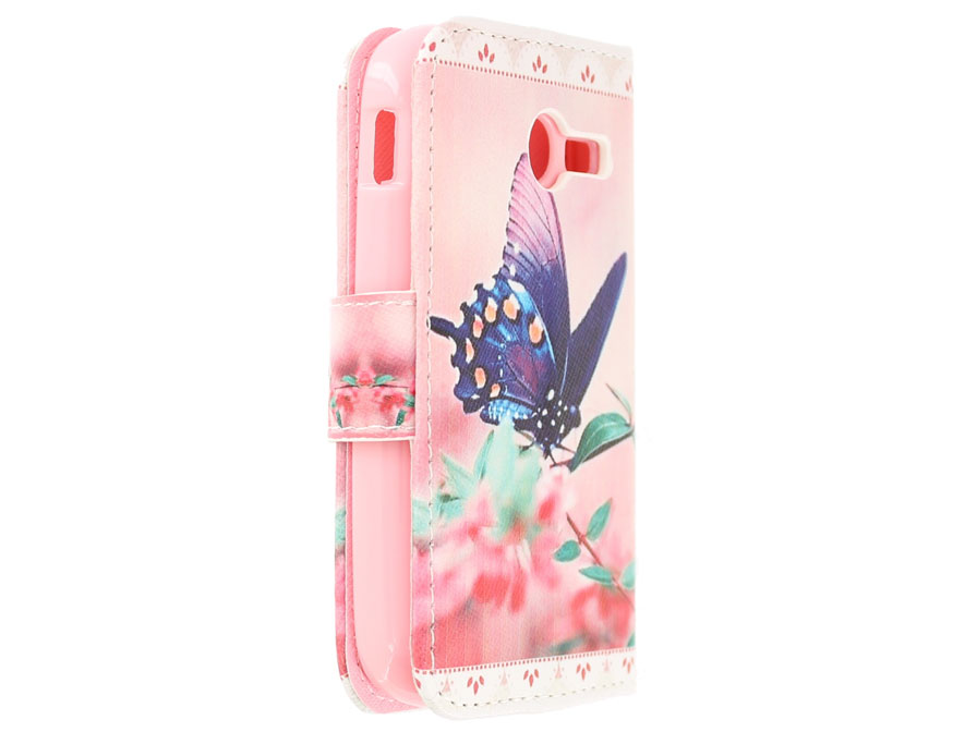 Butterfly Book Case Hoesje voor Samsung Galaxy Pocket 2