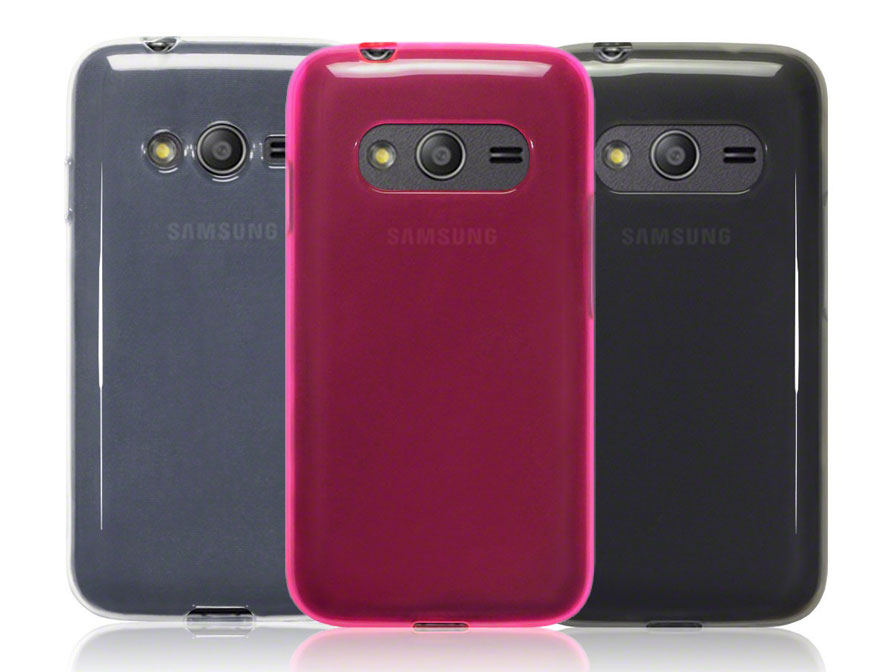CaseBoutique TPU Soft Case - Hoesje voor Samsung Galaxy Trend 2