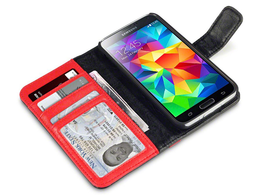 CaseBoutique Sterling Wallet Case - Samsung Galaxy Trend 2 hoesje