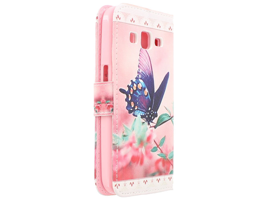 Butterfly Book Case Hoesje voor Samsung Galaxy Core Prime