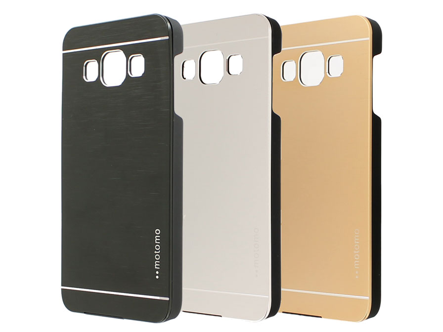 Brushed Aluminium Case - Samsung Galaxy A3 2015 hoesje