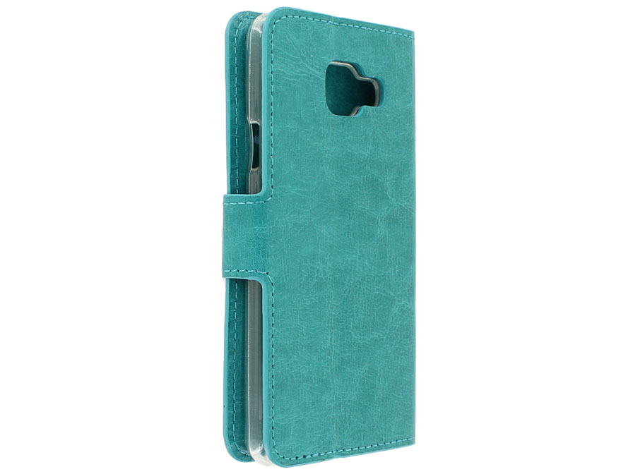 Bookcase Turquoise - Samsung Galaxy A3 2016 hoesje