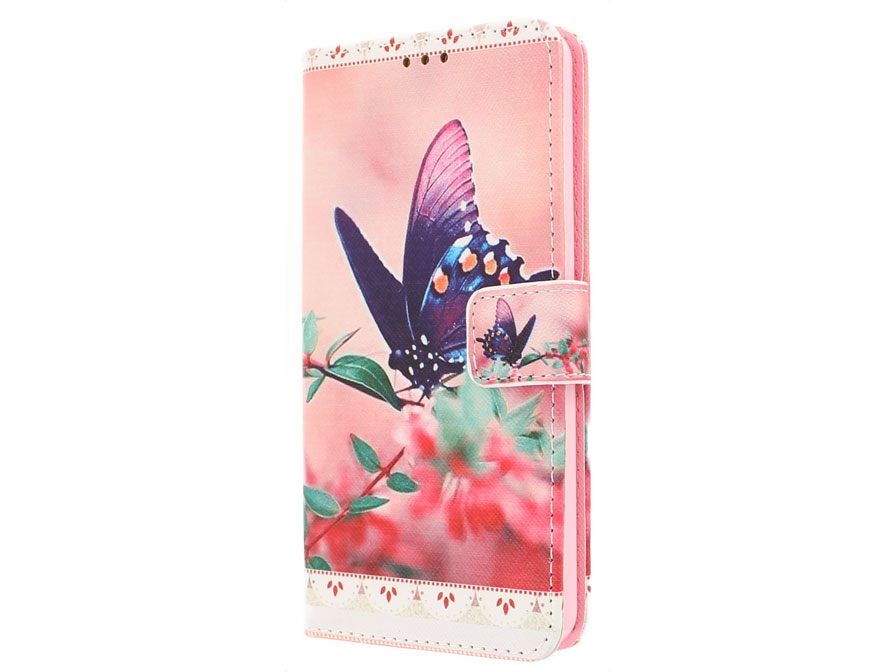 Butterfly Book Case - Samsung Galaxy A3 2016 hoesje