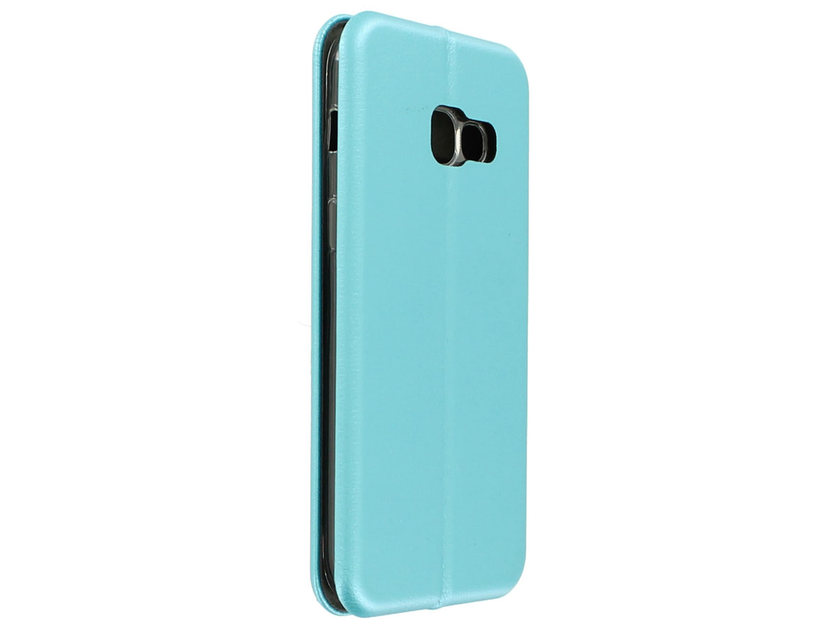 Elegance Bookcase Turquoise - Galaxy A3 2017 hoesje
