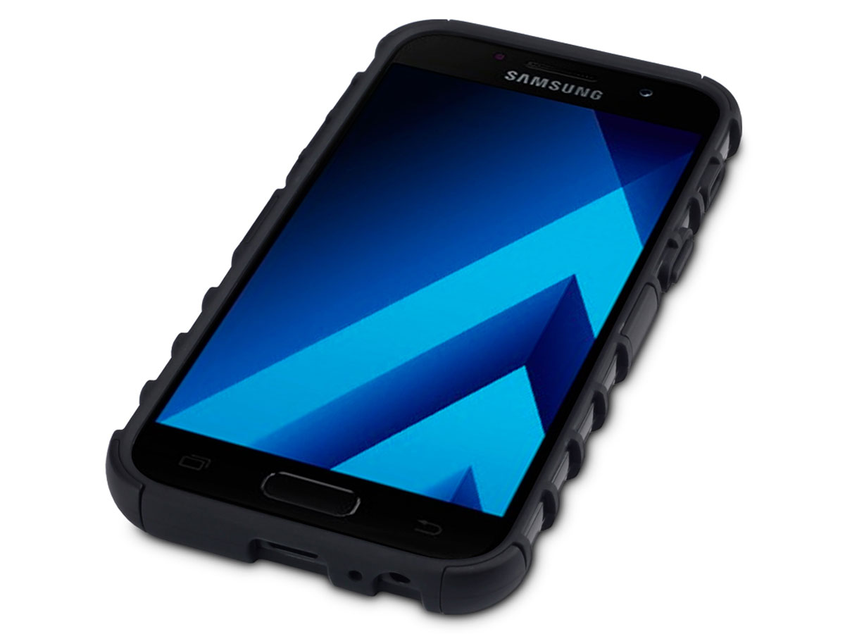 samsung galaxy a3 2017 hoesje rugged armor case. Black Bedroom Furniture Sets. Home Design Ideas