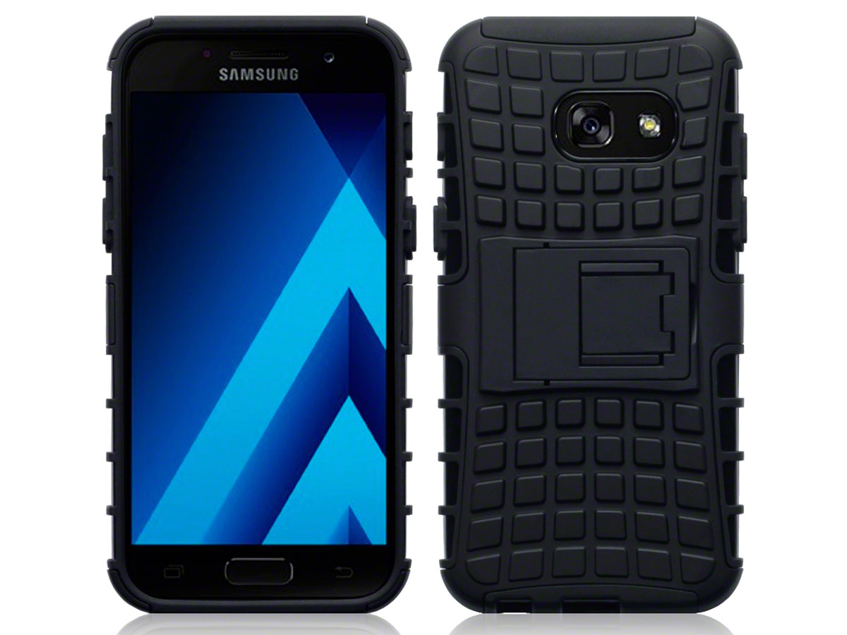 samsung galaxy a3 2017 hoesje rugged armor case. Black Bedroom Furniture Sets. Home Design Ideas