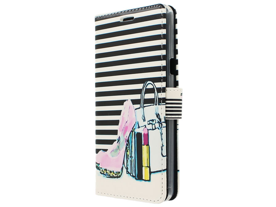 Fashion Bookcase - Samsung Galaxy A5 2016 hoesje