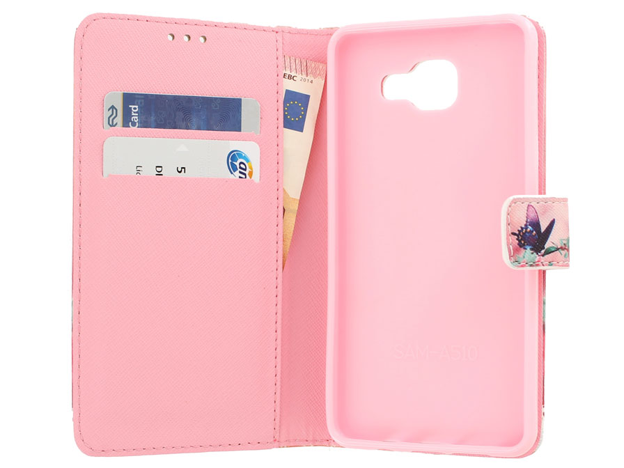 Butterfly Book Case - Samsung Galaxy A5 (2016) hoesje
