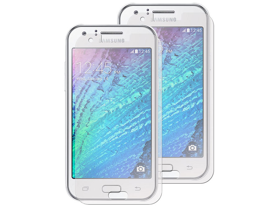 Clear Screenprotector voor Samsung Galaxy J1 (2-pack)