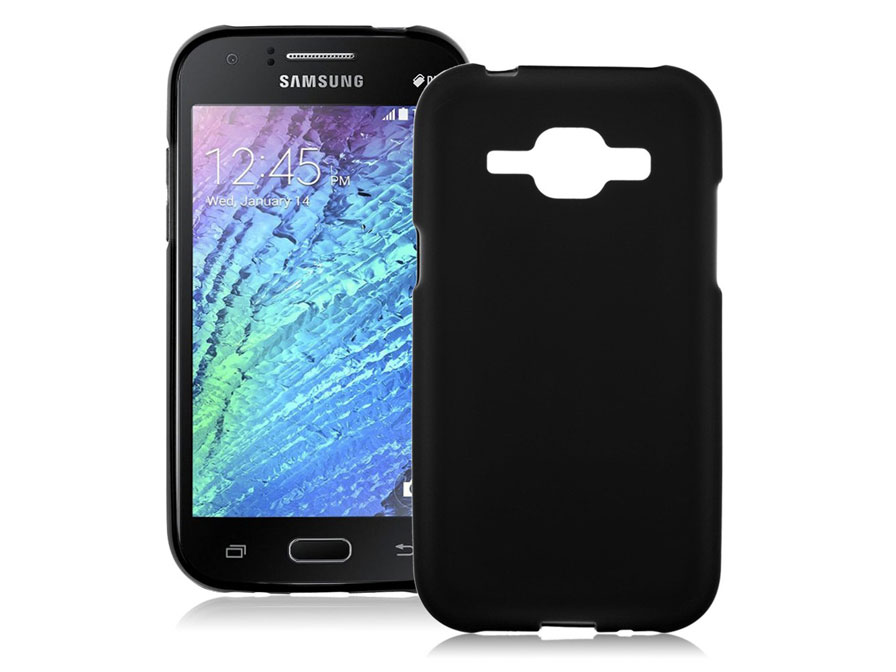 Frosted TPU Soft Case - Hoesje voor Samsung Galaxy J1