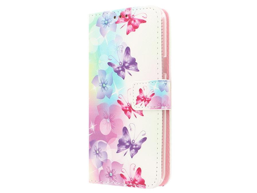Vlinder Book Case Samsung Galaxy J5 Hoesje